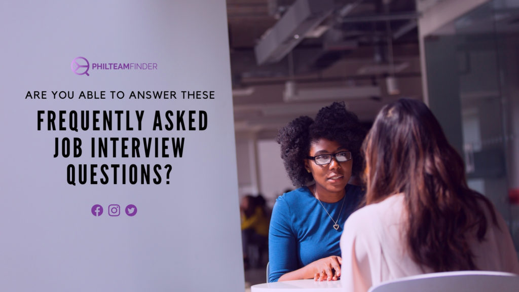 Are You Able to Answer these Frequently Asked Job Interview Questions?